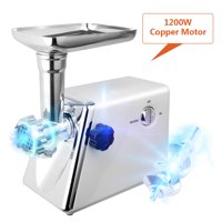 Electric Meat Grinder Sausage Maker White