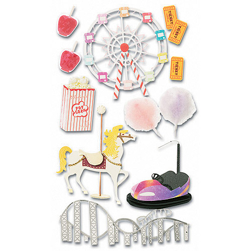 Jolee's Boutique Dimensional Stickers, Carnival