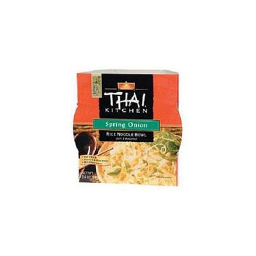 Thai Kitchen Spring Onion Wfm Rice Noodle Bowl 2.4 Oz (Pack of 6)