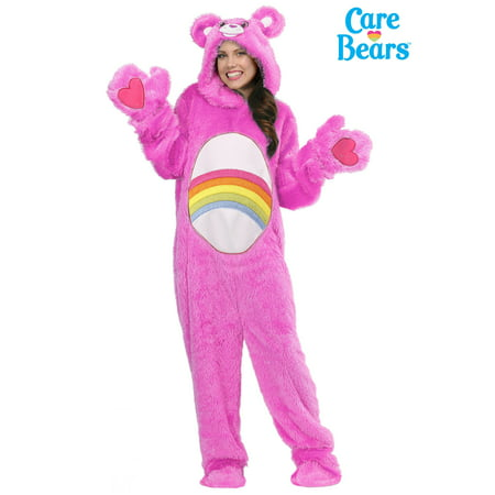 Care Bears Adult Classic Cheer Bear Costume (Bear Costumes For Adults)