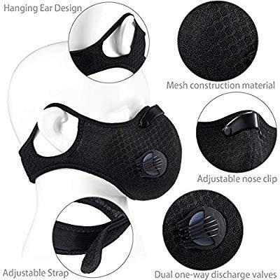 dust breathing mask adjustable respirator mask