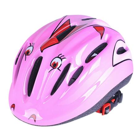 Unisex Kids Safety Helmet Mountain Bike Bicycle Helmet Cycling Children Helmet - (Helmet Mounting)
