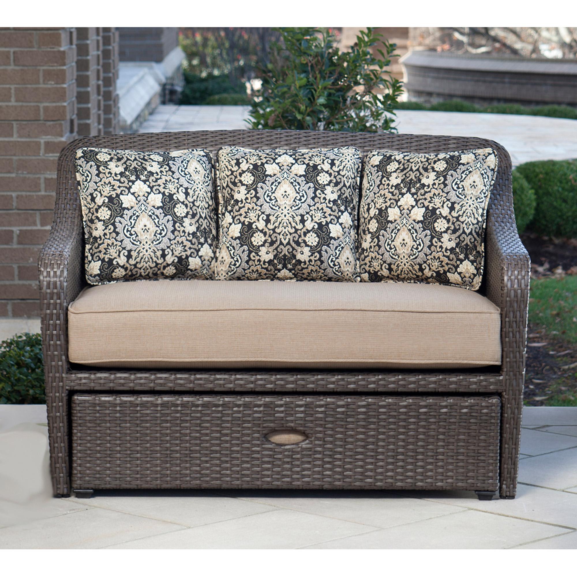 Sofa for Hanover Outdoor Furniture Soho 4 Piece Modern Lounge Set