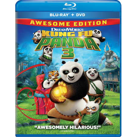 Kung Fu Panda 3 (Blu-ray + DVD)