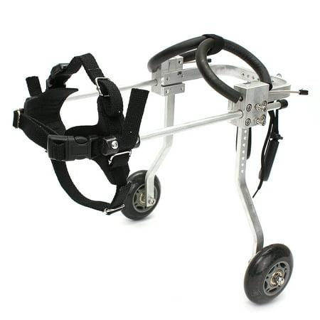 Moaere Adjustable Dog Pet Wheelchair 2 Wheel Front Hind