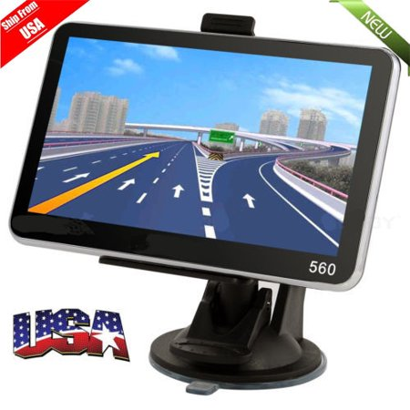 New 5 Inch 8Gb Hd Screen Car Truck Gps Navigation Navigator Sat Nav Us Map