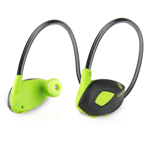 GOgroove BlueVIBE AGL Wireless Bluetooth Sport Headset with Stereo Earbud Design & Microphone
