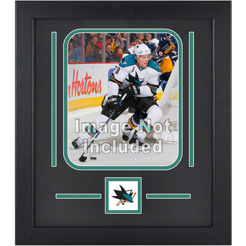 NHL - San Jose Sharks 8x10 Vertical Setup Frame with Team Logo