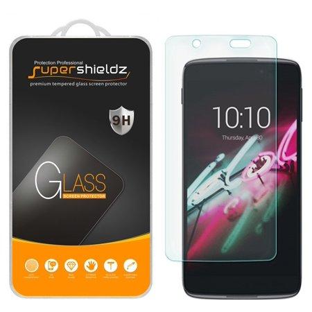 [2-Pack] Supershieldz for Alcatel Idol 4 Tempered Glass Screen Protector, Anti-Scratch, Anti-Fingerprint, Bubble Free (Alcatel Idol X 6040 Screen)
