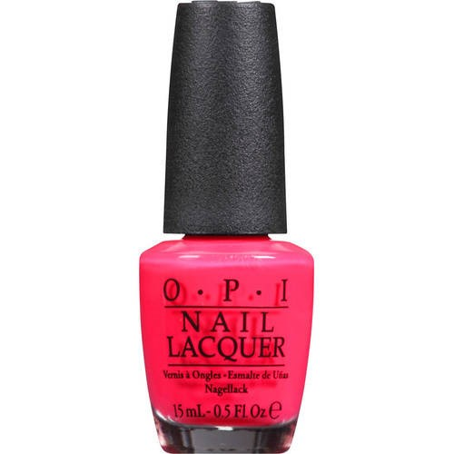 OPI Nail Lacquer, Charged Up Cherry, 0.5 Oz