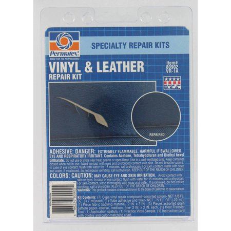 PERMATEX Vinyl And Leather Repair Kit (Quick 20 Leather & Vinyl Repair Kit Review)