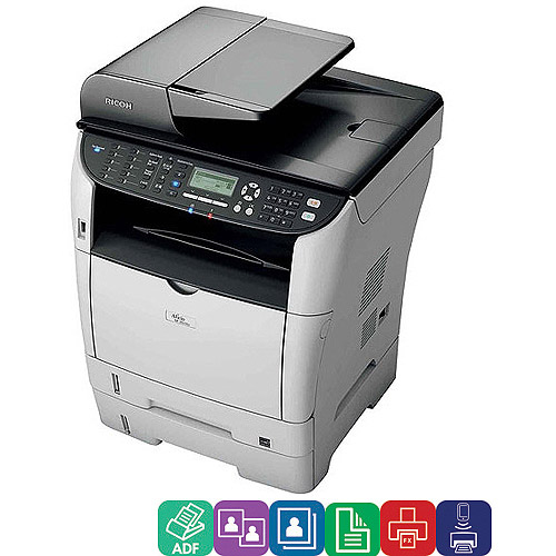 Ricoh Aficio Sp 3510sf Laser Multifunction Printer Copier Scanner