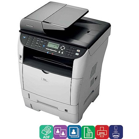 Ricoh Aficio SP 3510SF Laser Multifunction Printer/Copier/Scanner/Fax Machine