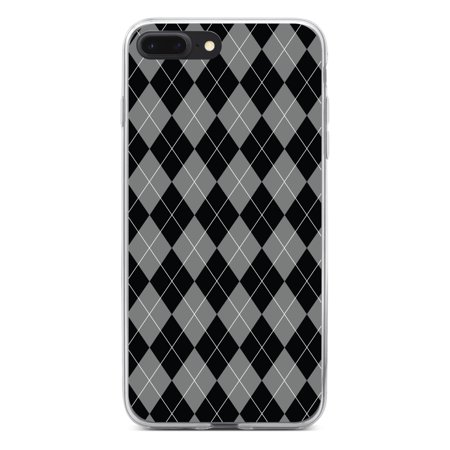 DistinctInk Clear Shockproof Hybrid Case for iPhone 7 PLUS / 8 PLUS (5.5