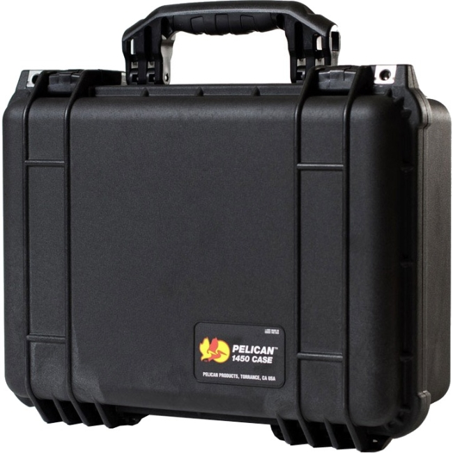 PELICAN PRODUCTS-PHOTO VIDEO PELICAN PRODUCTS- CASES             1450-001-110         1450NF HARD CASE BLACK