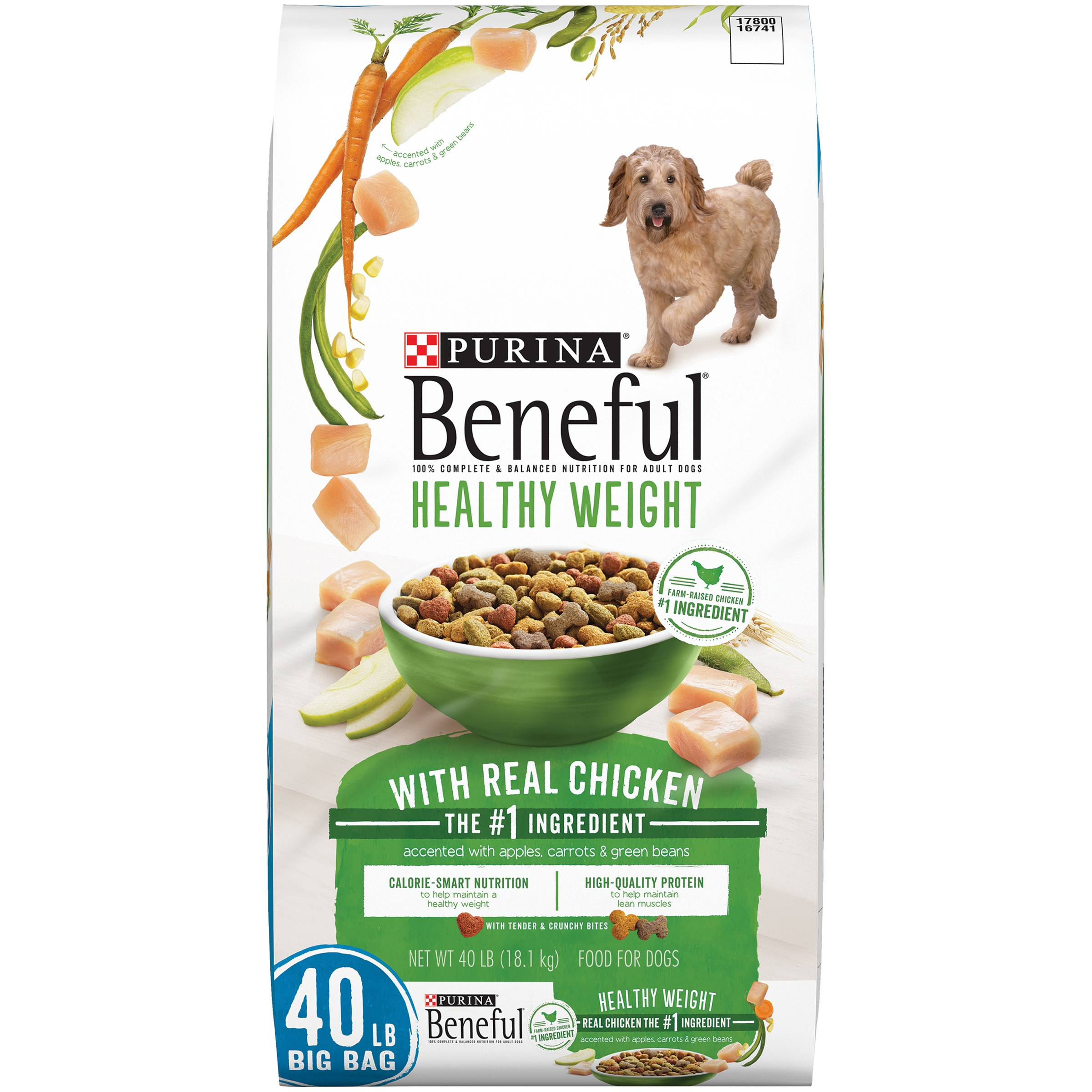 Purina Beneful Healthy Weight with Real Chicken Food for Dogs 40lb.