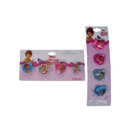 Fancy Nancy Plastic Rings & Bubble Rings 8CT Set](Frozen Plastic Rings)