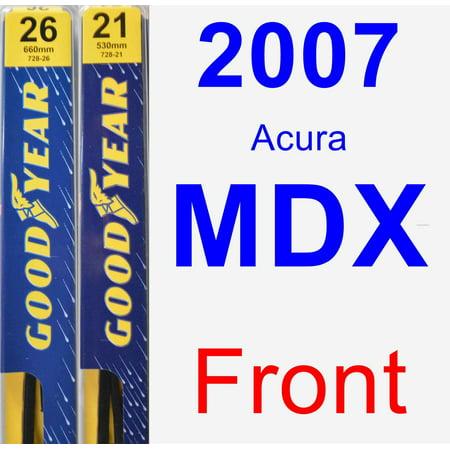 2007 Acura MDX Wiper Blade Set/Kit (Front) (2 Blades) - -