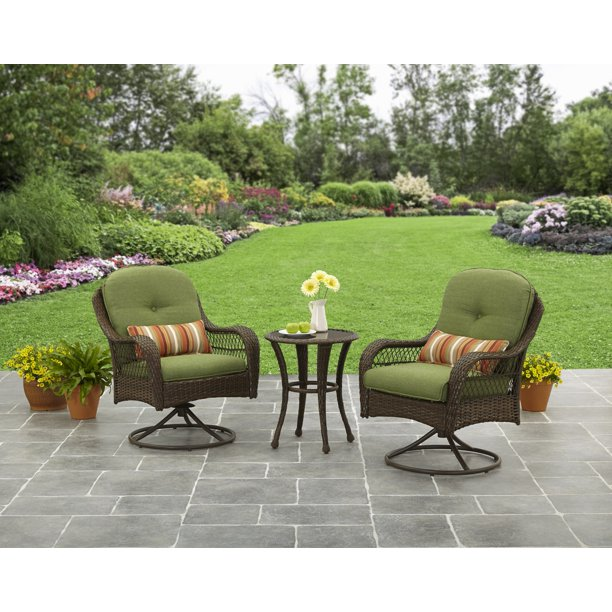 Better Homes and Gardens Azalea Ridge 3 Piece Outdoor Bistro Set