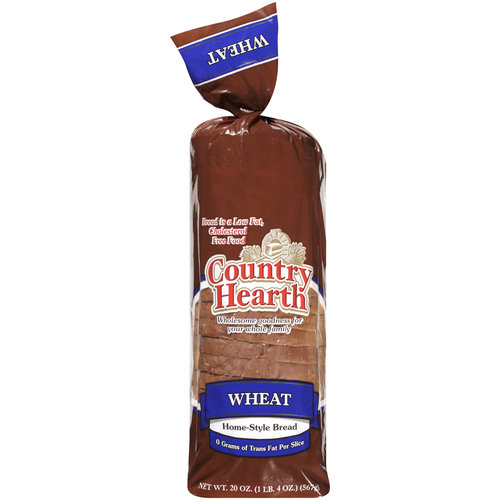 Country Hearth Home-Style Wheat Bread, 20 oz