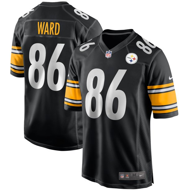 Hines Ward Pittsburgh Steelers Nike Game Retired Player Jersey - Black