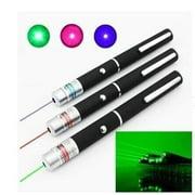 Powerful Green Red Blue Laser Pointer Pen Beam Light 5mW Professional Military High Power Presenter Lazer