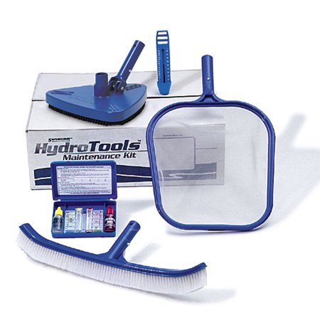 - Hydro Tools 8610  Premium Above & Inground Swimming Pool Maintenance Kit, Blue