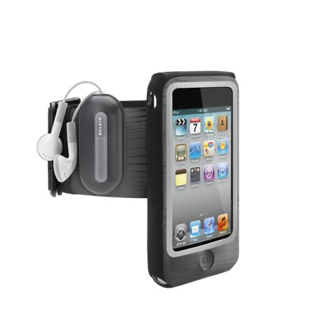 Belkin FastFit Armband - Arm pack for player - black - for Apple iPod touch (2G) (Ipod Touch 2g)