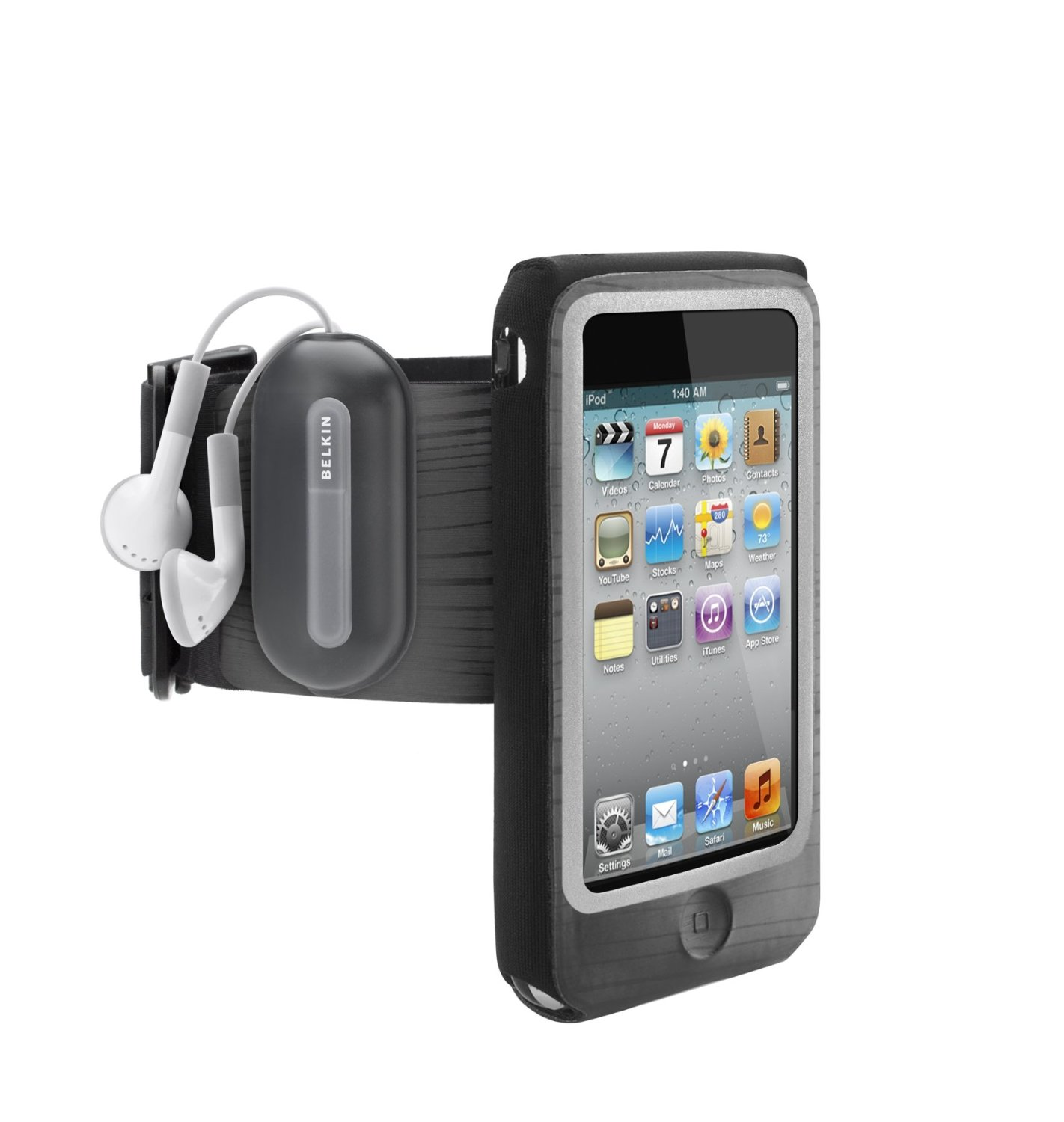 Belkin FastFit Armband for Apple iPod touch 4th Gen (Black)