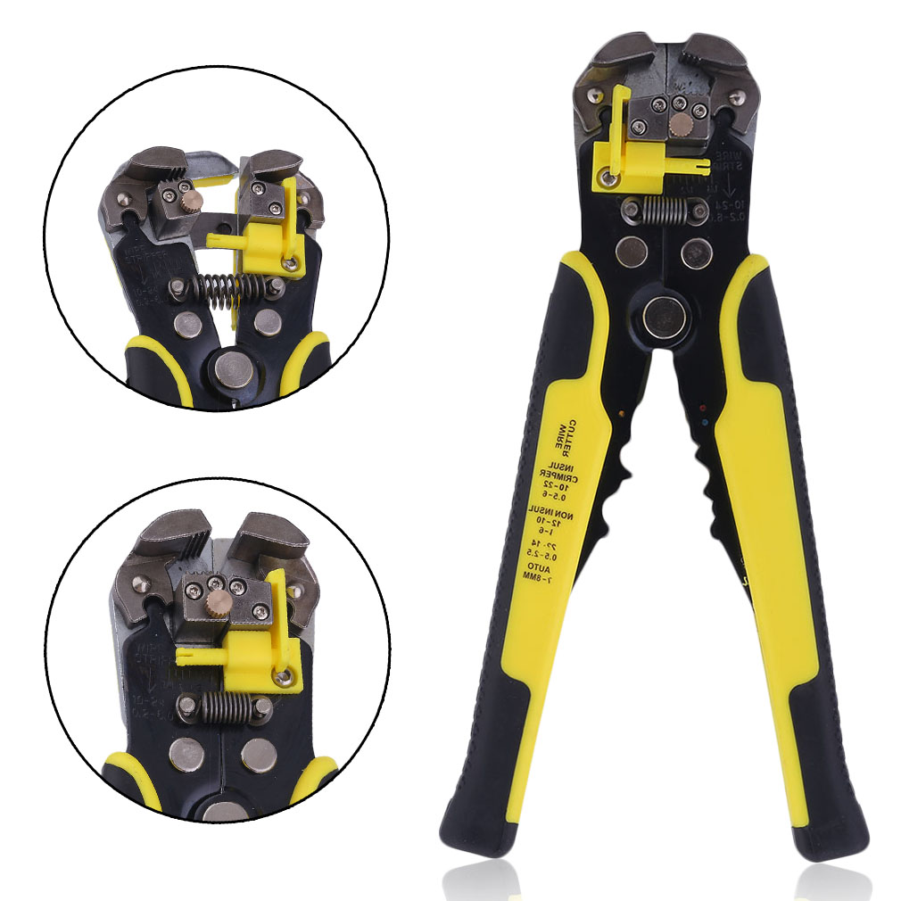 Professional Automatic Cable Wire Stripper, Wire Striper Cutter ,Crimper Crimping Pliers... by Generic