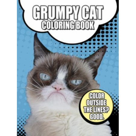 GRUMPY CAT COLORING BOOK? - Halloween Coloring Pages Cats