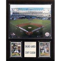 C&I Collectables MLB 12x15 Oakland-Alameda County Coliseum Stadium Plaque