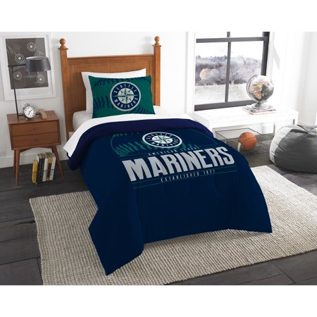 Seattle Mariners The Northwest Company Grand Slam Twin Comforter