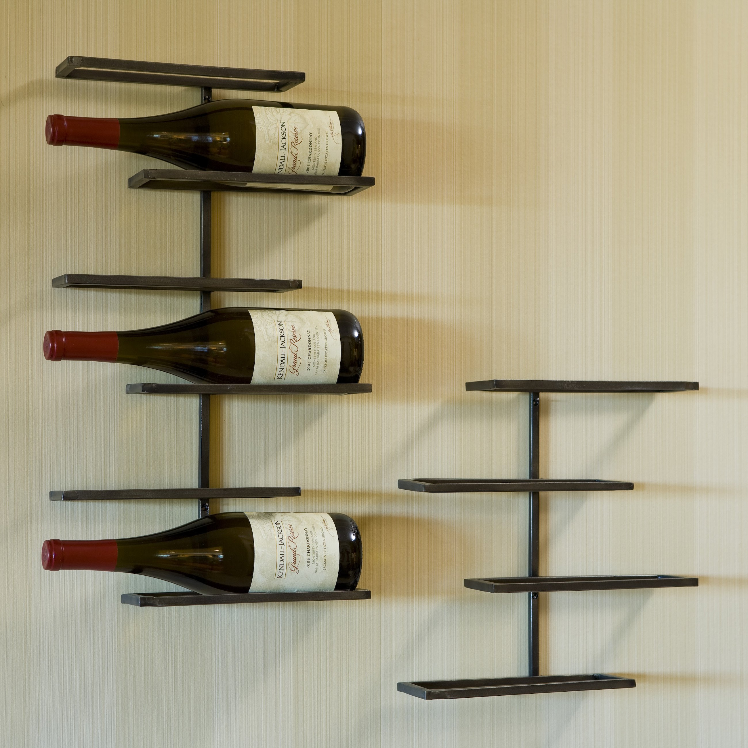 Tribeca 4-Bottle Wall Mounted Wine Rack - Walmart.com