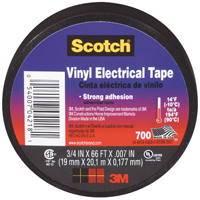 "Scotch 700 Electrical Tape, 3/4"" x 66' x 0.007"""