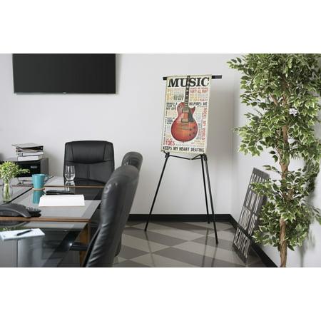 Studio Designs Jumbo Presentation Easel for large Presentation Pads in - Presentation Flip Chart Easel Stand