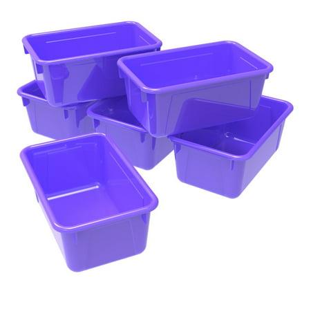 Small Cubby Bin, Classroom Purple (Case of 5) - image 1 de 2