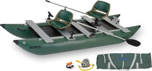Sea Eagle 375FC FoldCat Inflatable Pontoon Boat Deluxe Package by Sea Eagle Boats, Inc.
