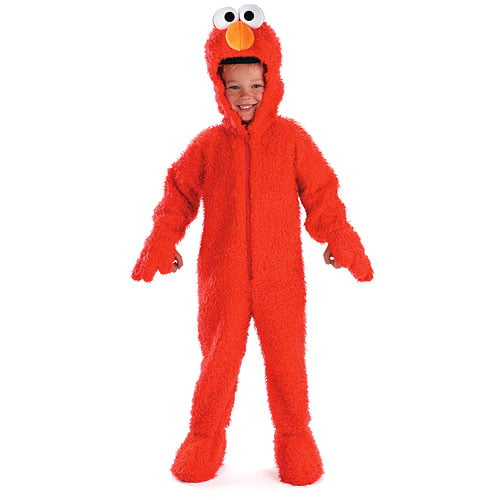 Toddler's Deluxe Sesame Street Elmo Plush Costume by Disguise Costumes