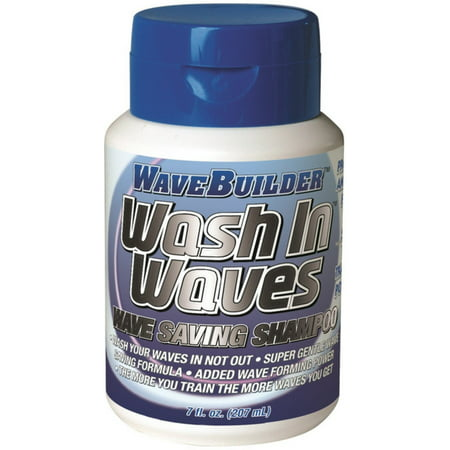 WaveBuilder Wash In Waves Shampoo, 7 oz (Pack of