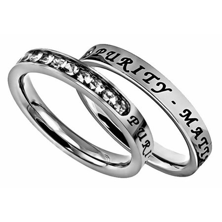 A purity ring is a solid promise to God that you're dedicated to remaining pure. It also reminds you and others of that promise to God. Check out the following 10 pretty purity rings!