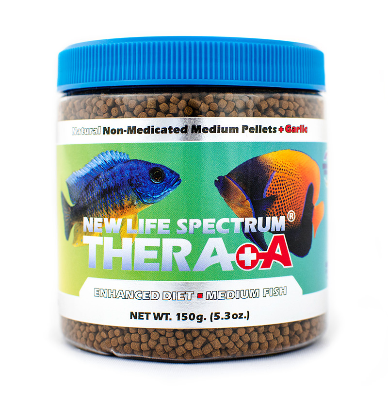 New Life Spectrum Thera A Enhanced Diet Fish Food Pellets for Medium Fish, 150 g