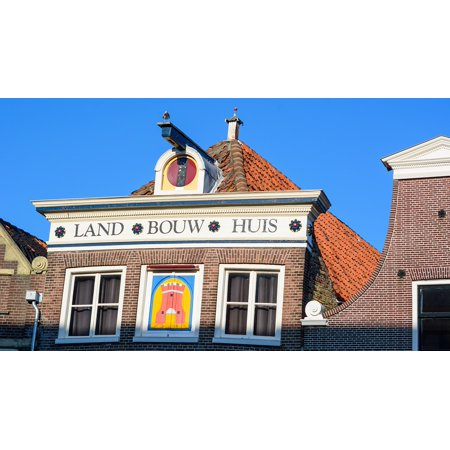 LAMINATED POSTER Architecture Old House Netherlands Holland Alkmaar Poster Print 24 x 36
