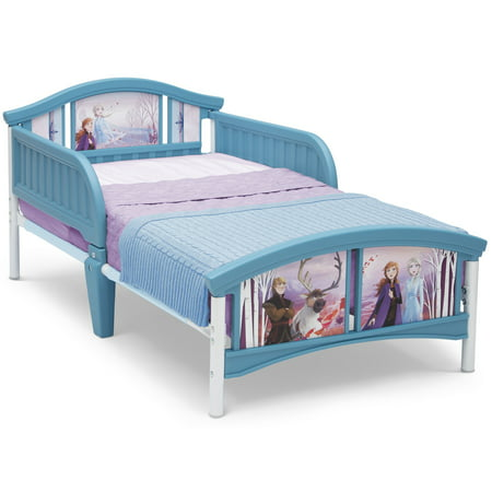 Disney Frozen II Plastic Toddler Bed by Delta Children