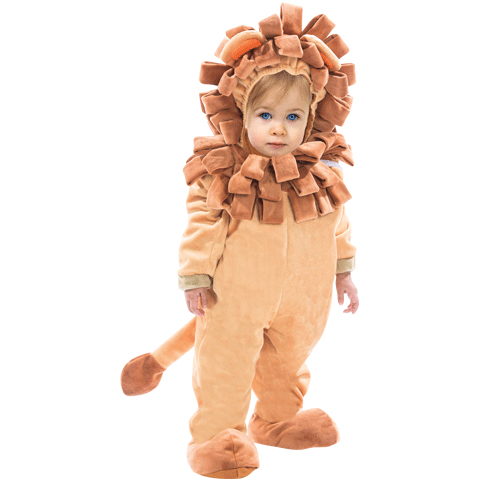 Lion Toddler Halloween Costume Size 2-4T
