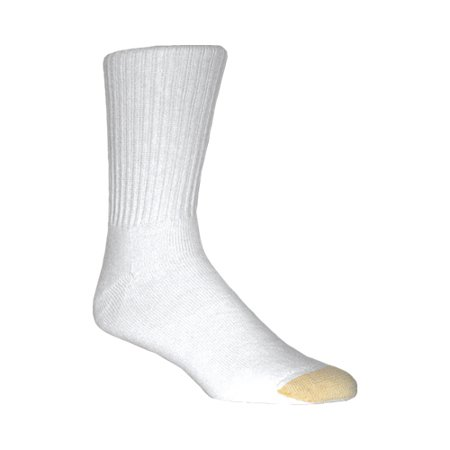 Men's Gold Toe Cotton Crew Extended 656SE (36 Pairs)