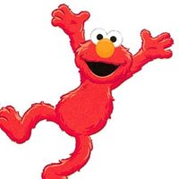 Blue Mountain Wallcoverings 12440786 Sesame Street Elmo Time To Learn Large Wall Accent Mural