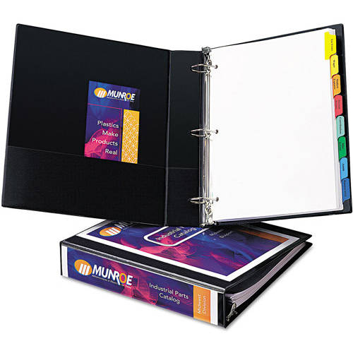 "Avery 1-1/2"" Durable View Binder w/Nonlocking EZD Rings, 11"" x 8 1/2"""