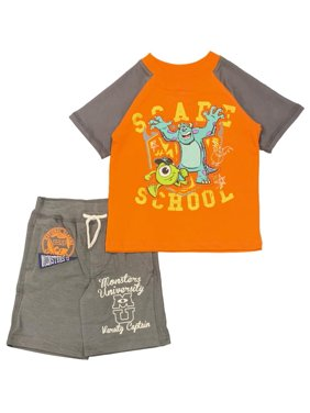 Monsters University Toddler Boys' Scare School Shorts Set