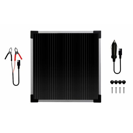 6-Watt Solar Battery Trickle Charger 12-Volt Maintainer Weatherproof (Coleman 6w 12 Volt Solar Battery Trickle Charger)